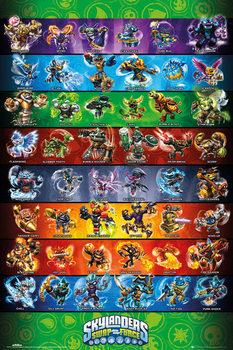 Skylanders swap force - Force Compilation Poster