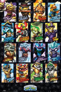 Skylanders swap force - Swappable Characters