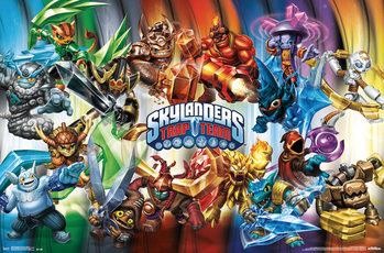 Skylanders Trap Team - Goodies Poster