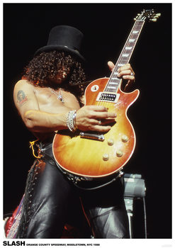 Slash - Guns Roses Poster