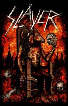 Slayer – Devil On Throne Poster