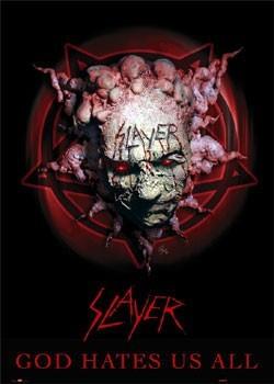 Slayer – god hates us Poster
