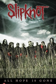 Slipknot - all hope Poster