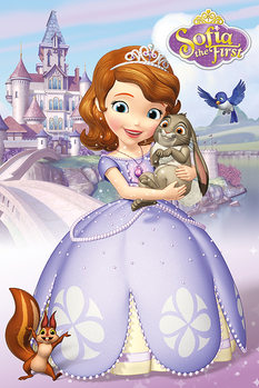 Poster Sofia the First - Characters