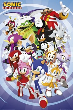 Sonic - cast Poster