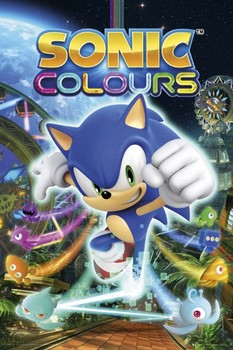 Sonic - colours Poster