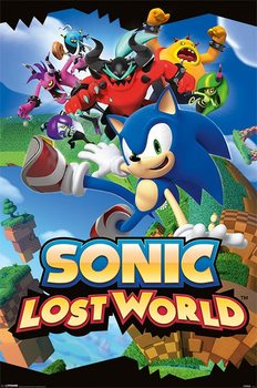 Sonic - lost world Poster