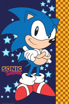 Sonic - stars Poster