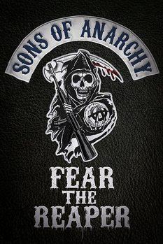 Sons of Anarchy - Fear the reaper Poster, Art Print