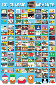 SOUTH PARK - 101 classic moments Poster