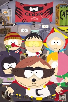 SOUTH PARK - coon and friends Poster