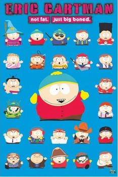 South Park - eric cartman Poster