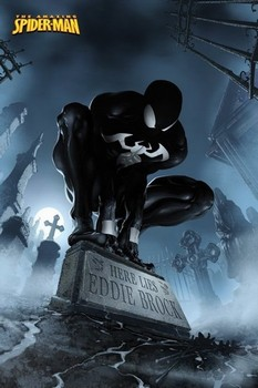 SPIDERMAN - here lies Eddie Brock Poster
