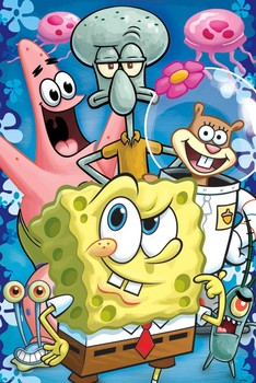 SPONGEBOB - group Poster