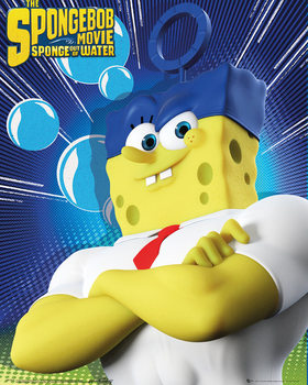 Poster Spongebob The Movie - Standing