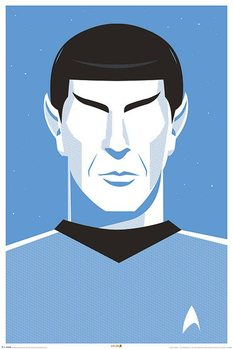 Poster  Star Trek - Pop Spock  50th Anniversary