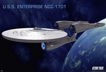 STAR TREK XI - Enterprise Poster, Art Print