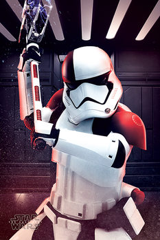 Star War The Last Jedi - Executioner Trooper Poster