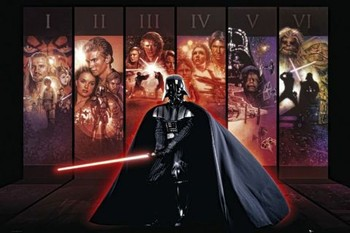 STAR WARS - anthology Poster, Art Print
