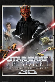 Poster STAR WARS -episode 1,one sheet