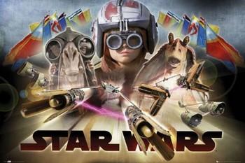 STAR WARS - episode 1,pod race Poster