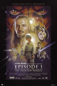 Star Wars Episode 1: The Phantom Menace Poster