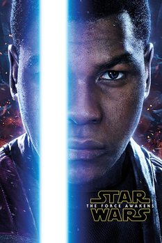 Star Wars Episode VII: The Force Awakens - Finn Teaser Poster, Art Print