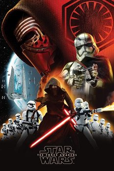 Star Wars Episode VII: The Force Awakens - First Order Poster, Art Print