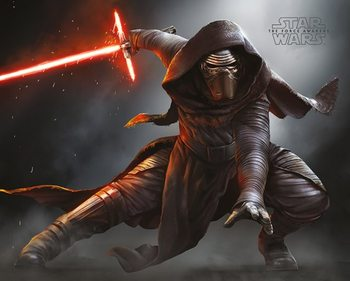 Poster Star Wars Episode VII: The Force Awakens - Kylo Ren Crouch