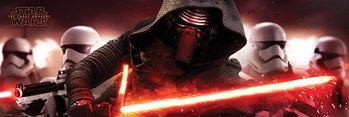 Pôster Star Wars Episode VII: The Force Awakens - Kylo Ren & Stormtroopers
