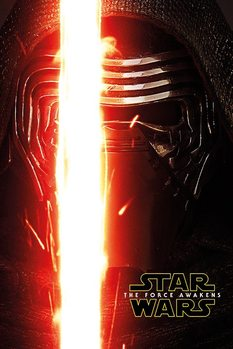 Star Wars Episode VII: The Force Awakens - Kylo Ren Teaser Poster, Art Print