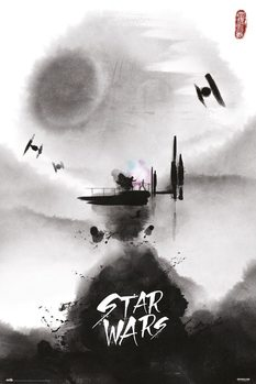 Star Wars - Ink Poster