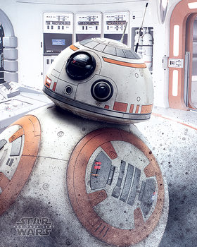 Poster Star Wars The Last Jedi - BB-8 Peek