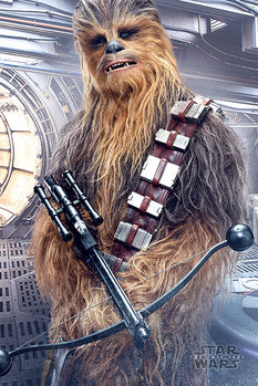 Poster  Star Wars The Last Jedi - Chewbacca Bowcaster