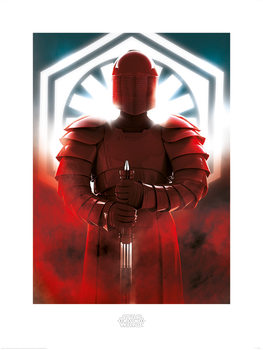 Star Wars The Last Jedi - Elite Guard Defend Art Print