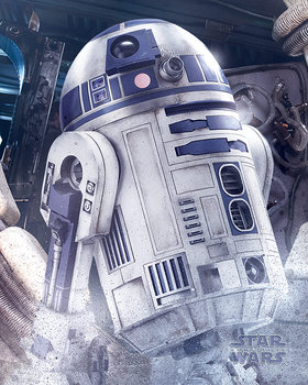 Poster Star Wars The Last Jedi - R2-D2 Droid
