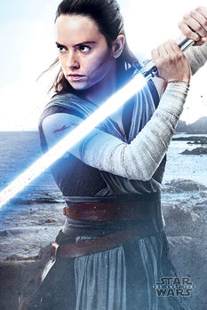 Poster  Star Wars The Last Jedi - Rey Engage