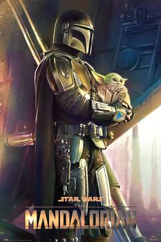 Poster Star Wars: The Mandalorian - Clan Of Two