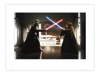 Star Wars - V vs O Art Print