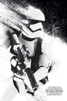 Star Wars VII: Síla se probouzí - Stormtrooper Paint Poster