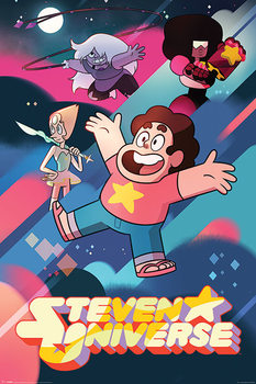 Steven Universe - Into Action Poster
