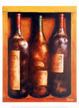 Straight From The Cellar I Art Print