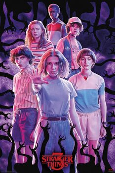 Stranger Things - Group Poster