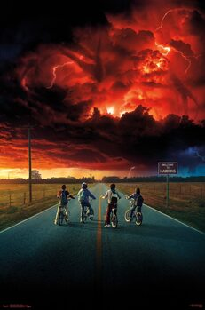 Stranger Things - Key Art Poster