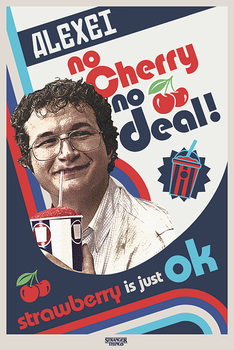 Stranger Things - No Cherry No Deal Poster