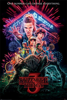 Poster Stranger Things - Summer of 85