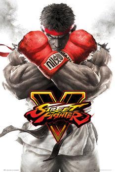 Pôster Street Fighter 5 - Ryu Key Art