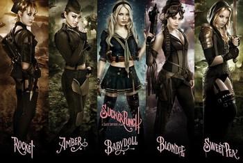 SUCKER PUNCH - girls Poster