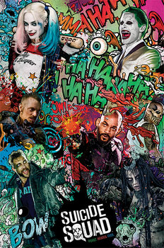 Suicide Squad - Crazy Poster