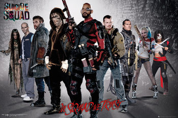 Pôster Suicide Squad - Group